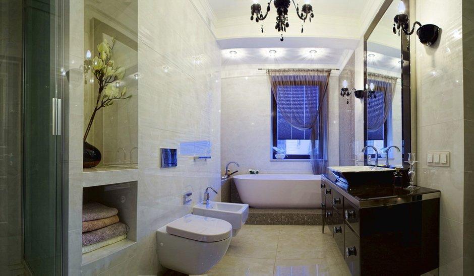 Фотография: Ванная в стиле Современный, Эклектика, Квартира, Дома и квартиры, Ар-деко, Неоклассика – фото на INMYROOM