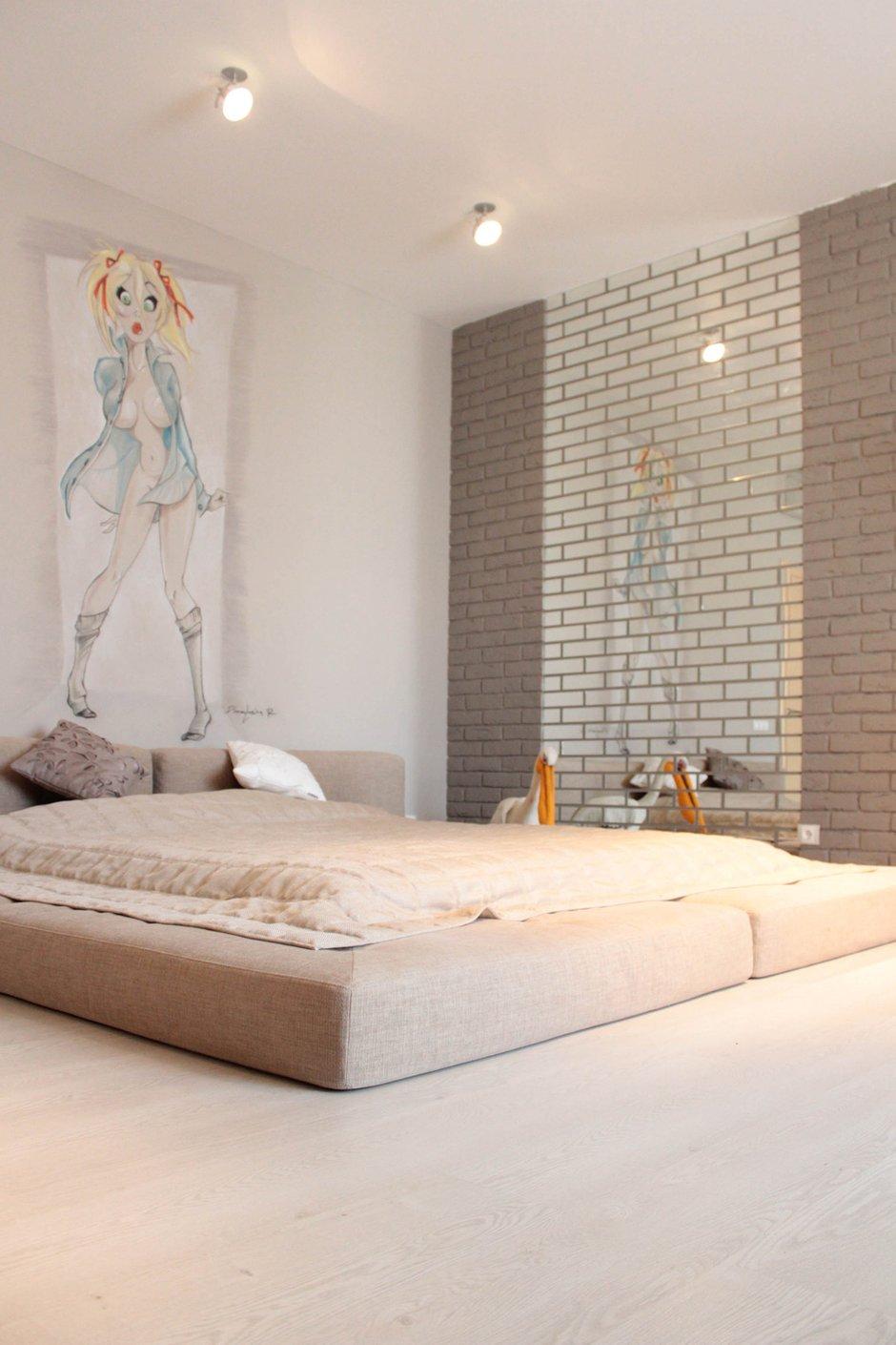 Фотография: Спальня в стиле Лофт, Интерьер комнат, Минимализм, Проект недели, Эко – фото на INMYROOM