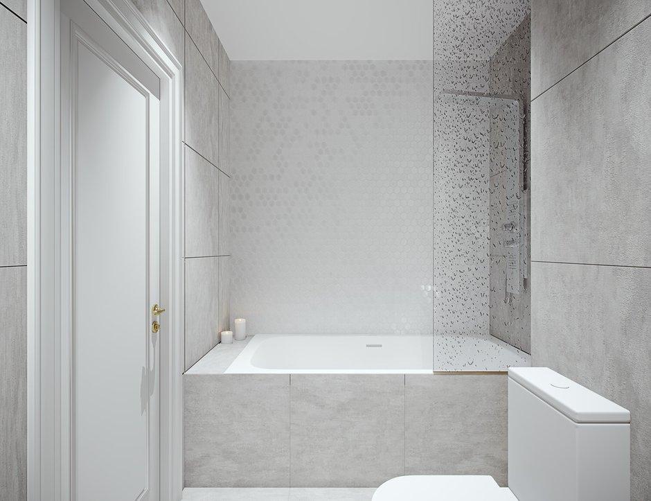 Фотография: Ванная в стиле Современный, Квартира, Проект недели, Москва, 4 и больше, Более 90 метров, Little Space – фото на INMYROOM