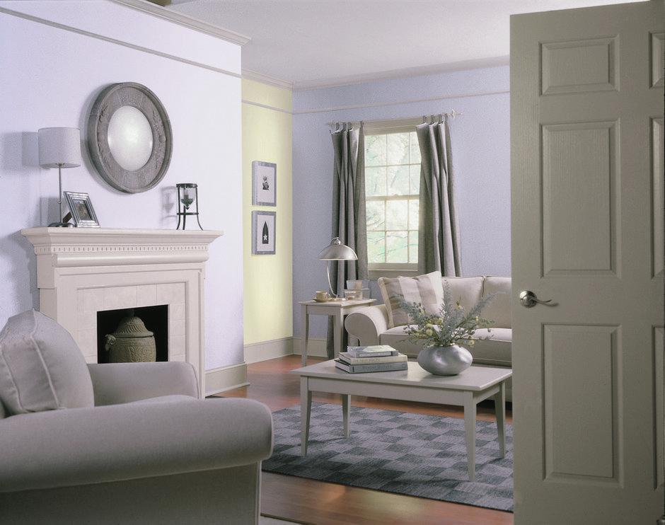 Фотография: Гостиная в стиле Скандинавский, Декор интерьера, Дизайн интерьера, Цвет в интерьере, Dulux – фото на INMYROOM