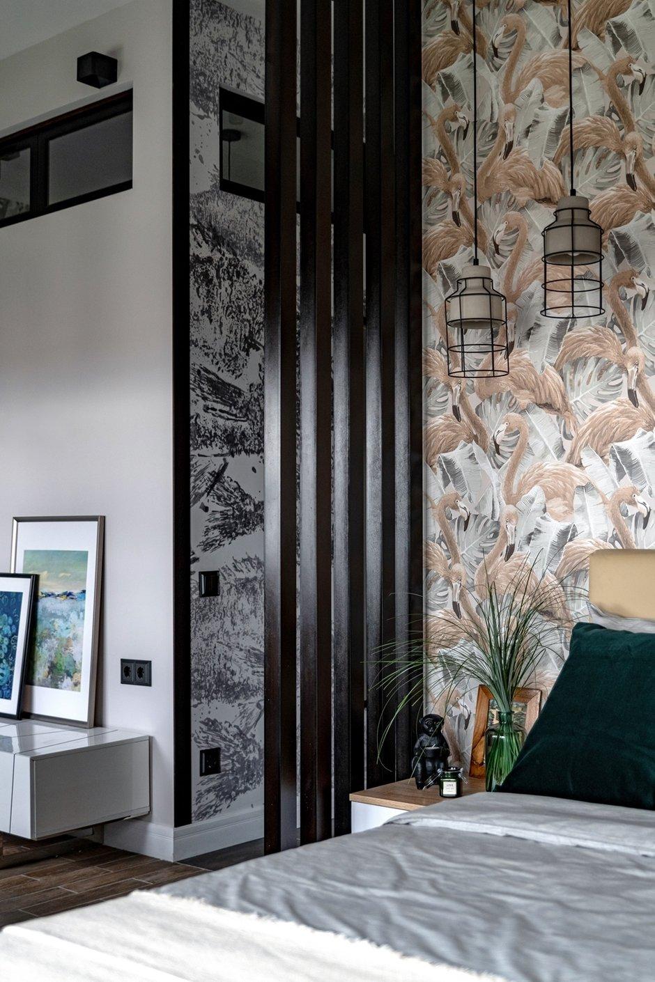 Фотография: Спальня в стиле Современный, Малогабаритная квартира, Квартира, Студия, Проект недели, Москва, Марина Саркисян, Монолитный дом, до 40 метров – фото на INMYROOM