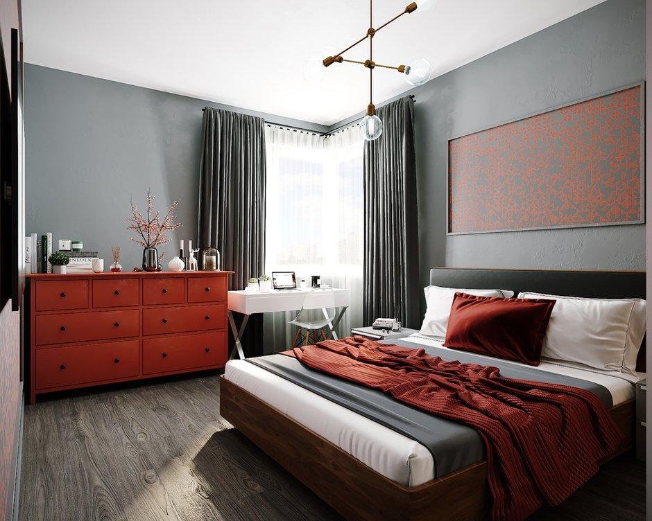 Фотография: Спальня в стиле Современный, Квартира, Советы, 2 комнаты, #каксэкономить, Светлана Удзилаури – фото на INMYROOM