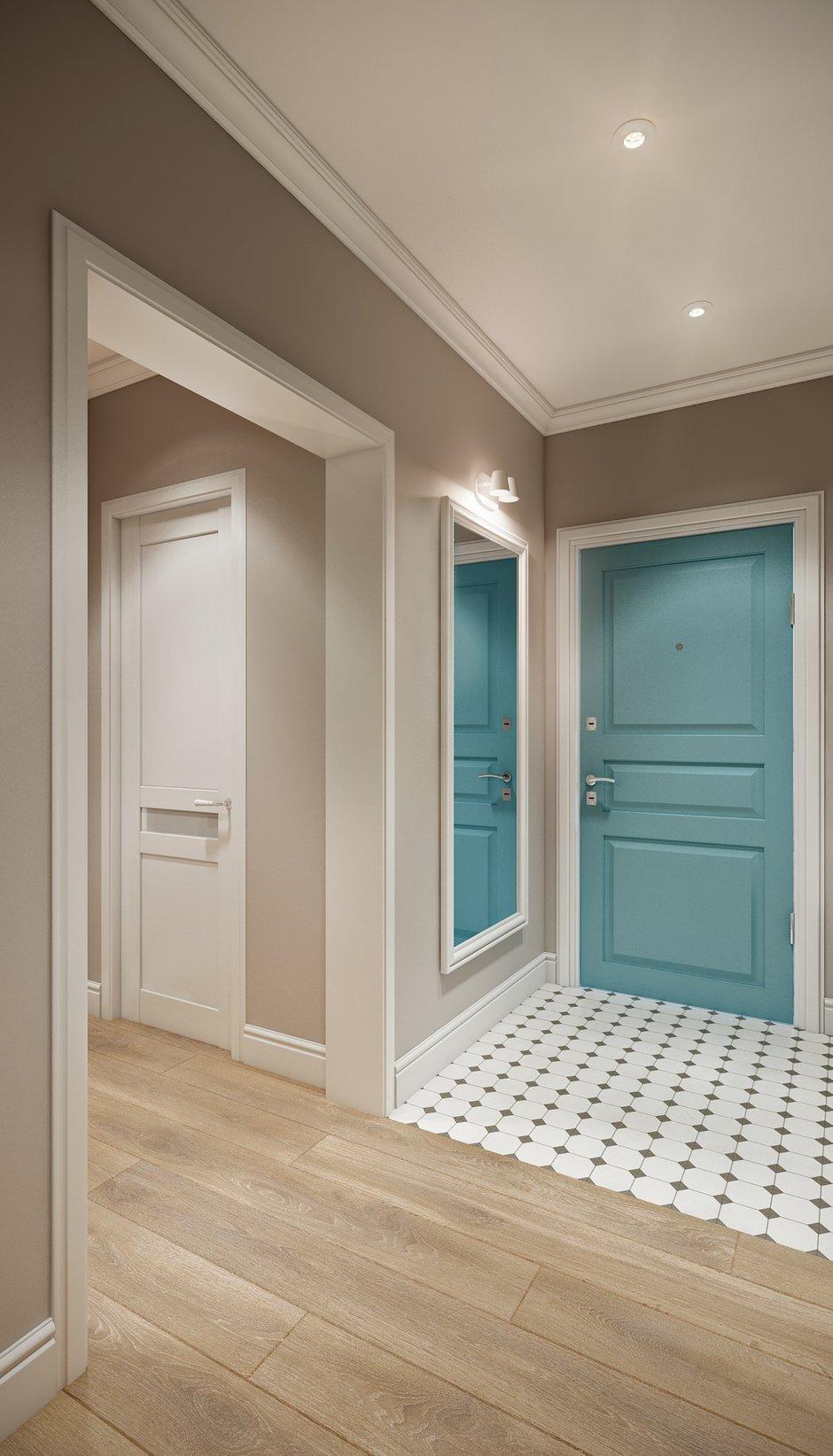 Фотография: Прихожая в стиле Современный, Квартира, Проект недели, Co:Interior, Монолитный дом, 2 комнаты, 60-90 метров, Южно-Сахалинск – фото на INMYROOM