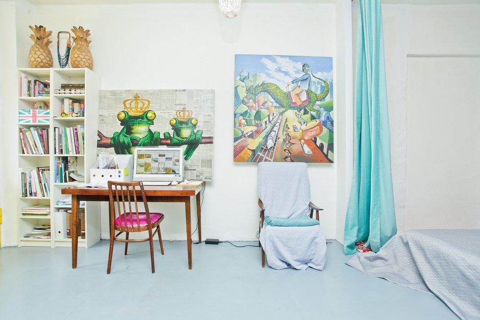 Фотография: Кабинет, Декор в стиле Лофт, Скандинавский, Квартира, Дома и квартиры, IKEA – фото на INMYROOM