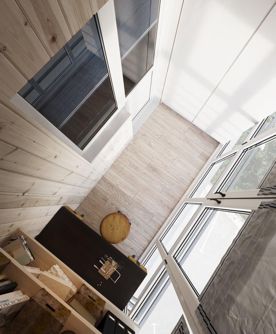 Фотография:  в стиле , Квартира, Проект недели, Московская область, Ольга Розина, 2 комнаты, 60-90 метров, Монолитно-кирпичный – фото на INMYROOM