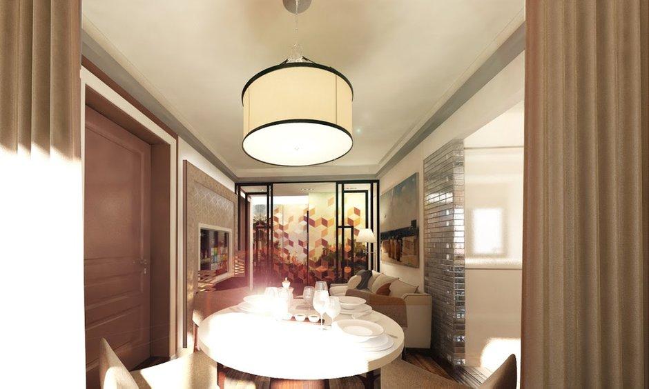 Фотография: Гостиная в стиле Современный, Квартира, Дома и квартиры, Проект недели, Москва – фото на INMYROOM