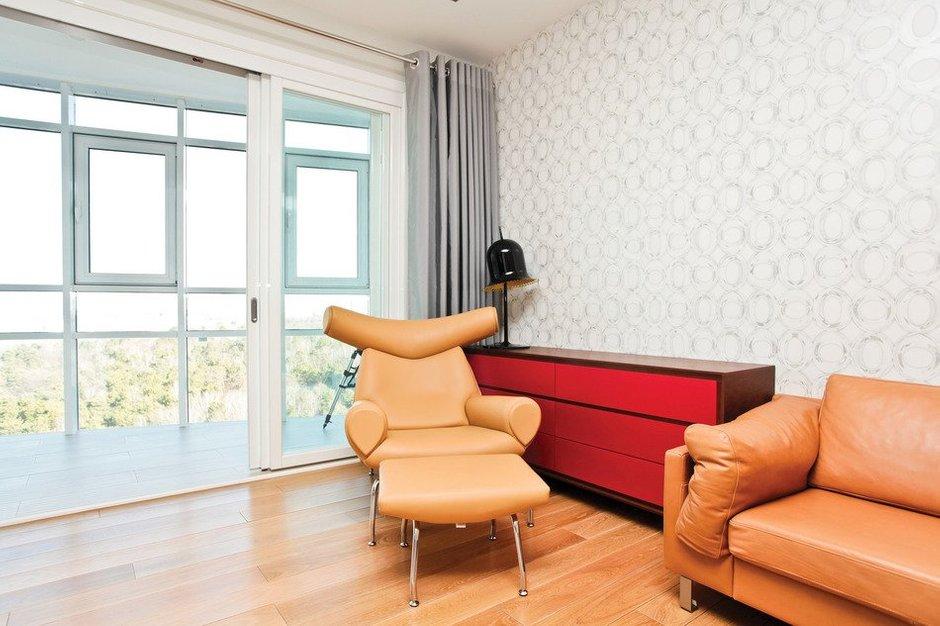 Фотография: Гостиная в стиле Современный, Скандинавский, Квартира, Дома и квартиры, Проект недели – фото на INMYROOM