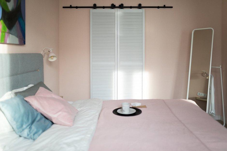 Фотография: Спальня в стиле Современный, Квартира, Проект недели, Санкт-Петербург, 1 комната, до 40 метров, Нина Иваненко – фото на INMYROOM