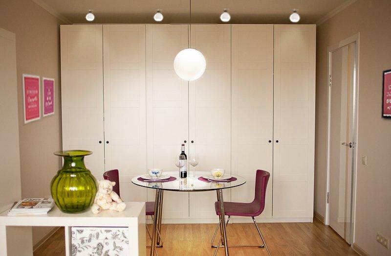 Фотография: Кухня и столовая в стиле Современный, Малогабаритная квартира, Квартира, Дома и квартиры, IKEA, Переделка – фото на INMYROOM
