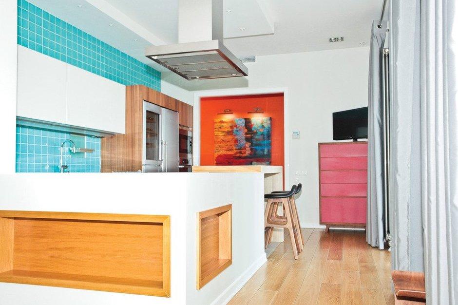 Фотография: Кухня и столовая в стиле Современный, Скандинавский, Квартира, Дома и квартиры, Проект недели – фото на INMYROOM