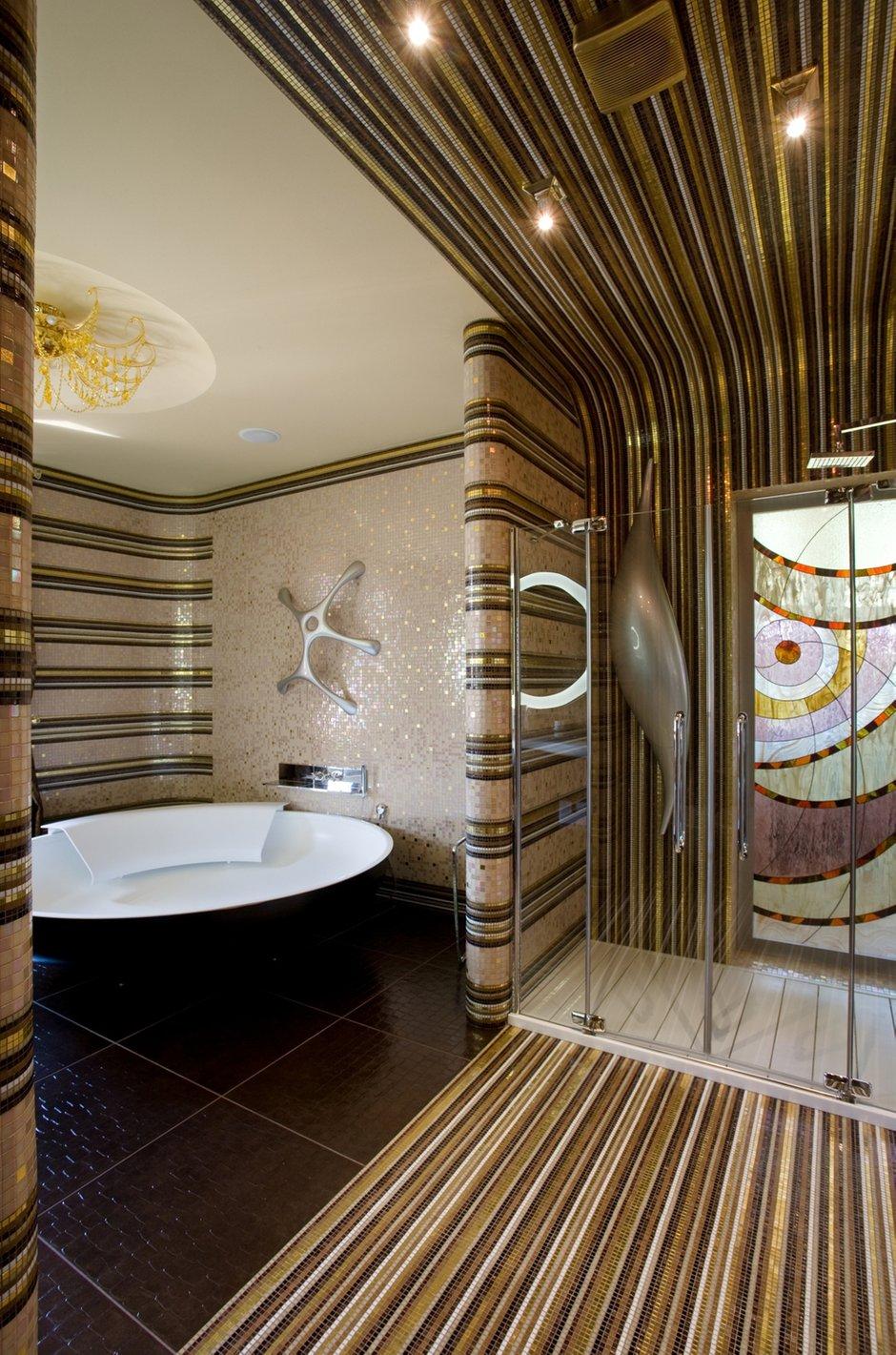 Фотография: Ванная в стиле Современный, Дом, Дома и квартиры, Ар-деко – фото на INMYROOM