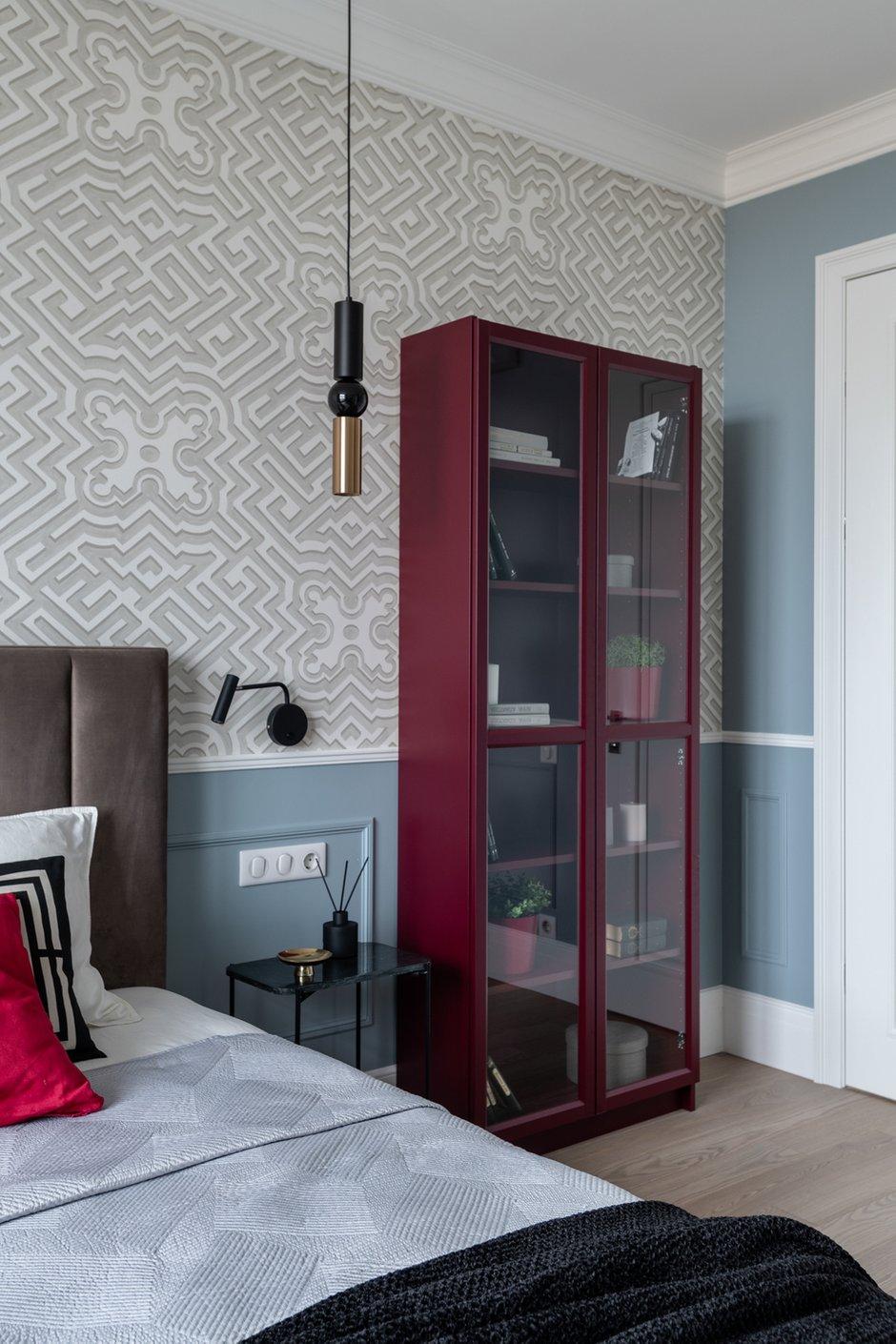 Фотография: Спальня в стиле Современный, Квартира, Проект недели, Москва, 3 комнаты, 60-90 метров, Анна Моджаро – фото на INMYROOM