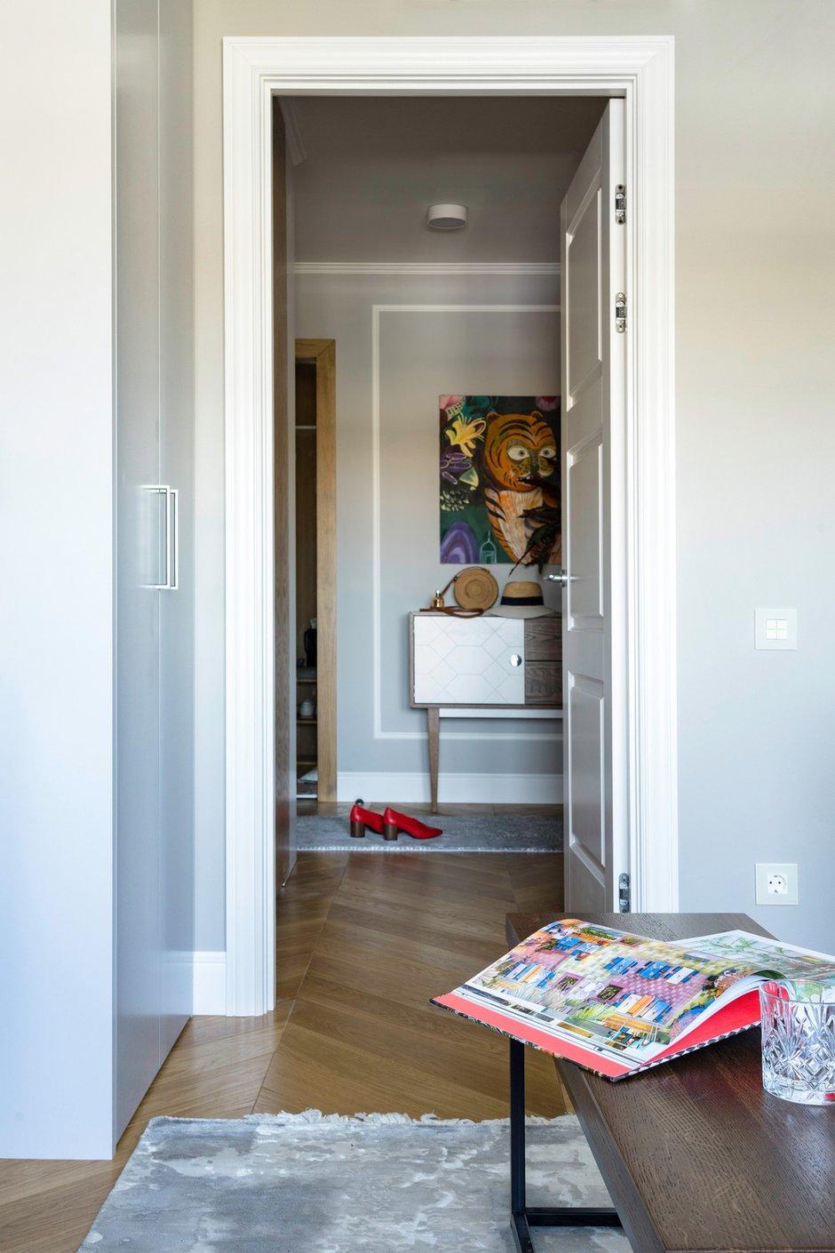 Фотография: Прихожая в стиле Современный, Эклектика, Квартира, Проект недели, Москва, Светлана Гаврилова, Монолитный дом, 3 комнаты, 60-90 метров – фото на INMYROOM
