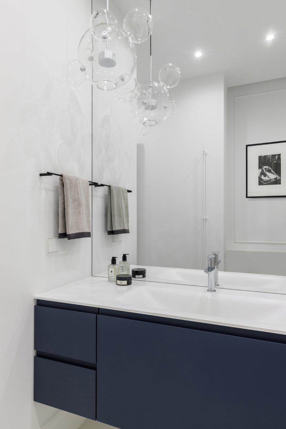Фотография: Ванная в стиле Современный, Квартира, Проект недели, Москва, 2 комнаты, 40-60 метров, Icon Interiors, Инга Моисеева – фото на INMYROOM