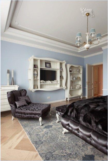 Фотография: Спальня в стиле Прованс и Кантри, Квартира, Дома и квартиры, Проект недели, Москва – фото на INMYROOM