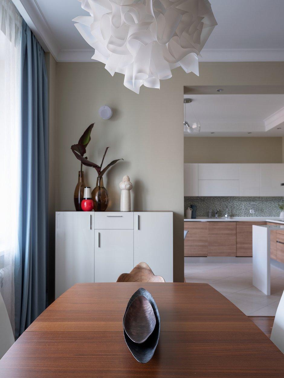 Фотография: Кухня и столовая в стиле Современный, Квартира, Проект недели, 3 комнаты, Более 90 метров, Екатерина Беликова – фото на INMYROOM