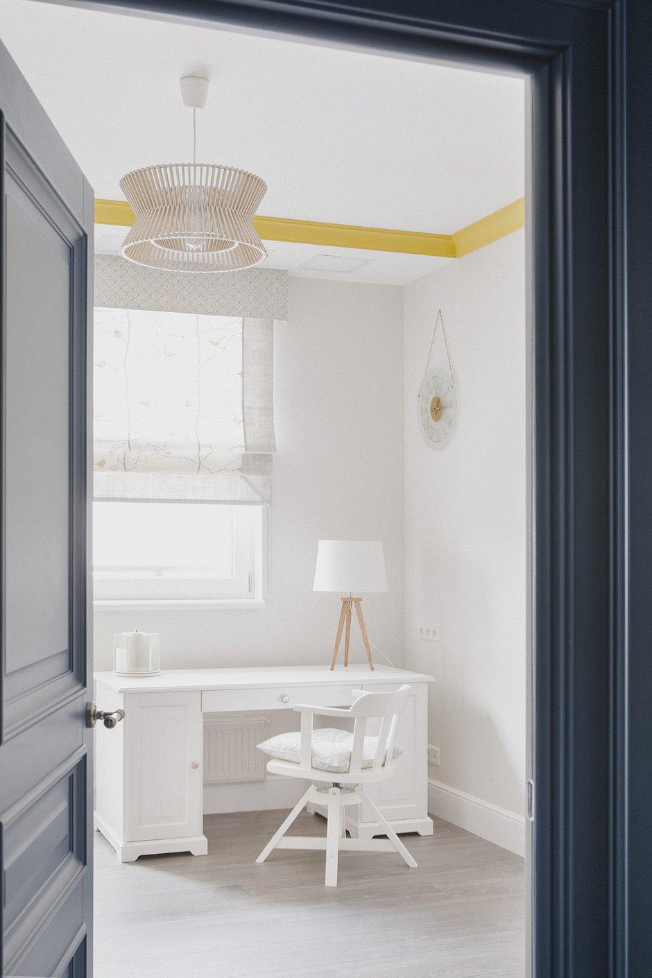 Фотография: Кабинет в стиле Классический, Современный, Квартира, Проект недели, Химки, Инна Величко, 3 комнаты, 60-90 метров – фото на INMYROOM