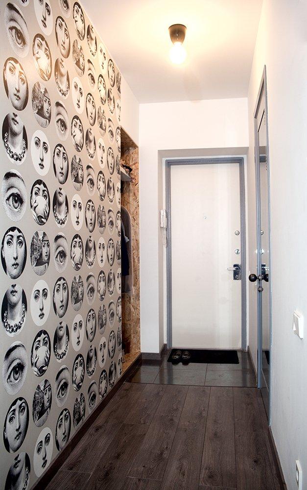 Фотография: Прихожая в стиле Скандинавский, Современный, Малогабаритная квартира, Квартира, Дома и квартиры – фото на INMYROOM