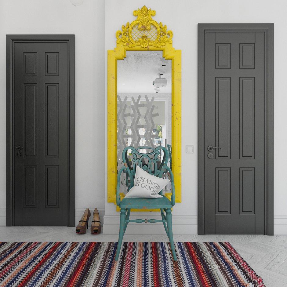 Фотография: Прихожая в стиле , Декор интерьера, Квартира, BoConcept, Eichholtz, Дома и квартиры, IKEA, Проект недели – фото на INMYROOM