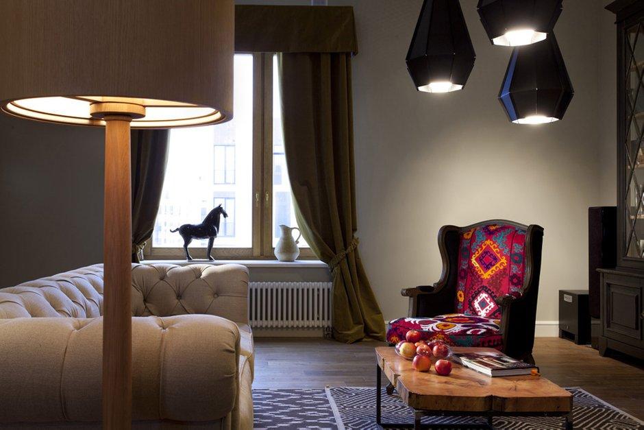 Фотография: Гостиная в стиле , Классический, Квартира, Дома и квартиры, Проект недели – фото на INMYROOM