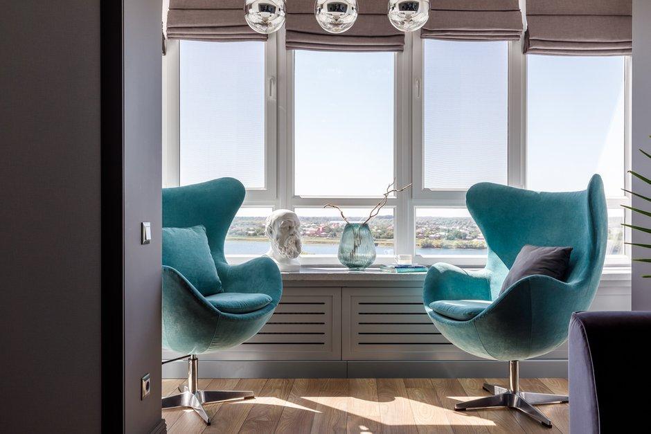 Фотография: Балкон в стиле Современный, Квартира, Проект недели, Краснодар, 3 комнаты, Более 90 метров, Archigram, Евгения Княжева – фото на INMYROOM