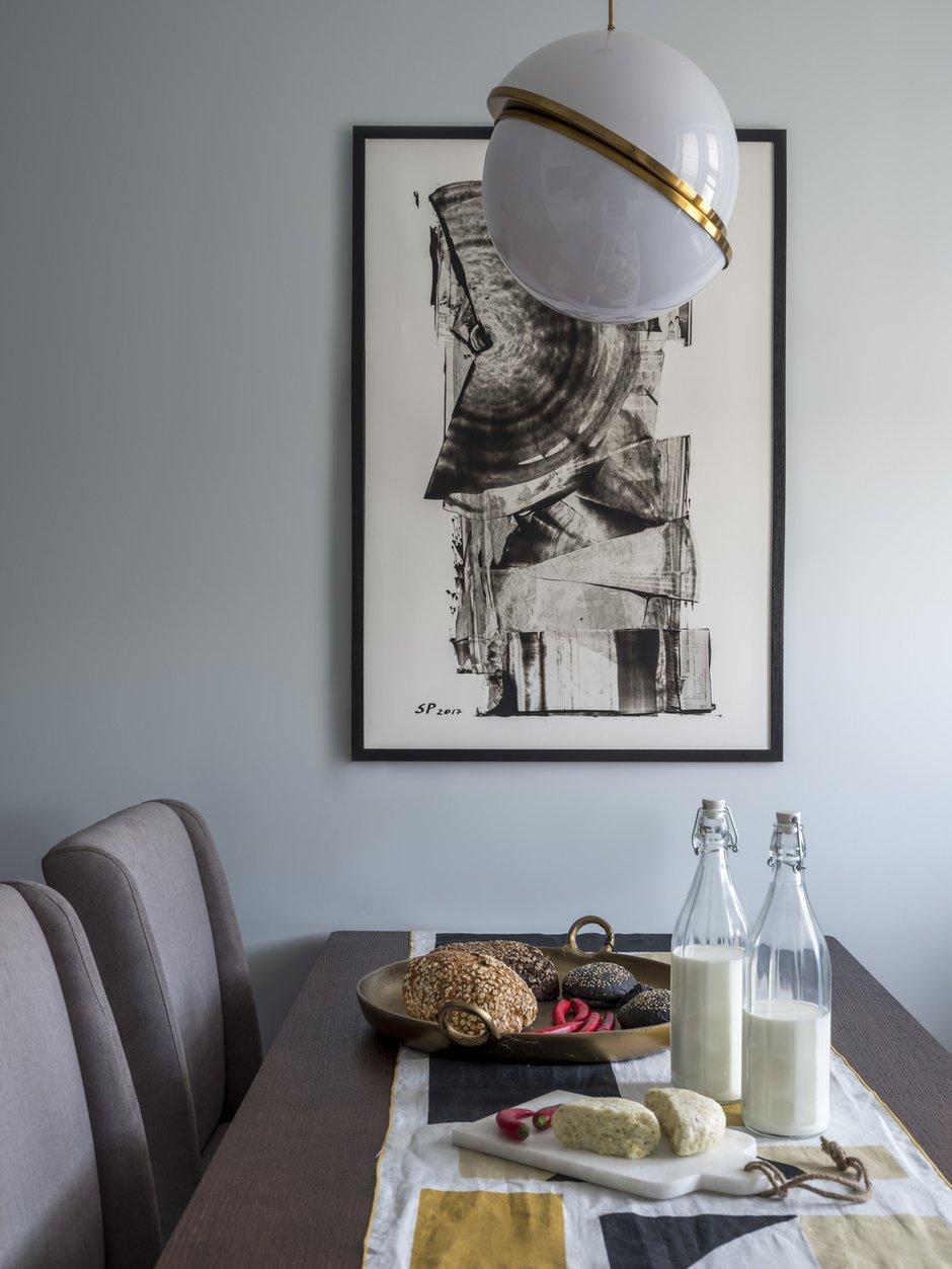 Фотография: Кухня и столовая в стиле Современный, Квартира, Проект недели, Москва, Мила Колпакова, Панельный дом, 2 комнаты, 40-60 метров, КОПЭ-85 – фото на INMYROOM