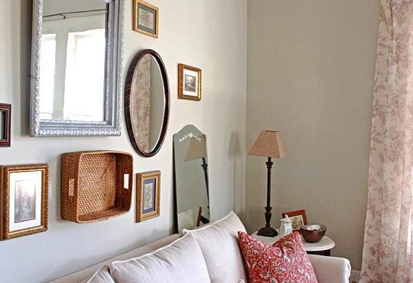 Фотография: Декор в стиле Прованс и Кантри, Декор интерьера, Дом, Мебель и свет, Полки, Лепнина – фото на INMYROOM