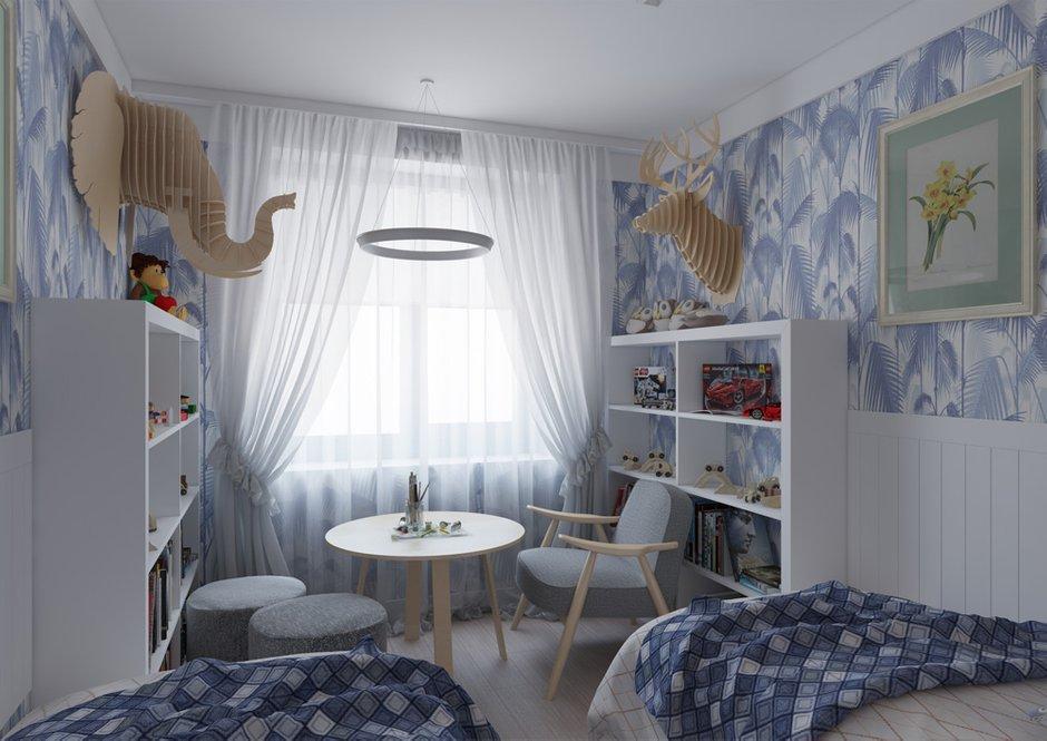 Фотография: Детская в стиле Прованс и Кантри, Квартира, BoConcept, Дома и квартиры, Проект недели – фото на InMyRoom.ru