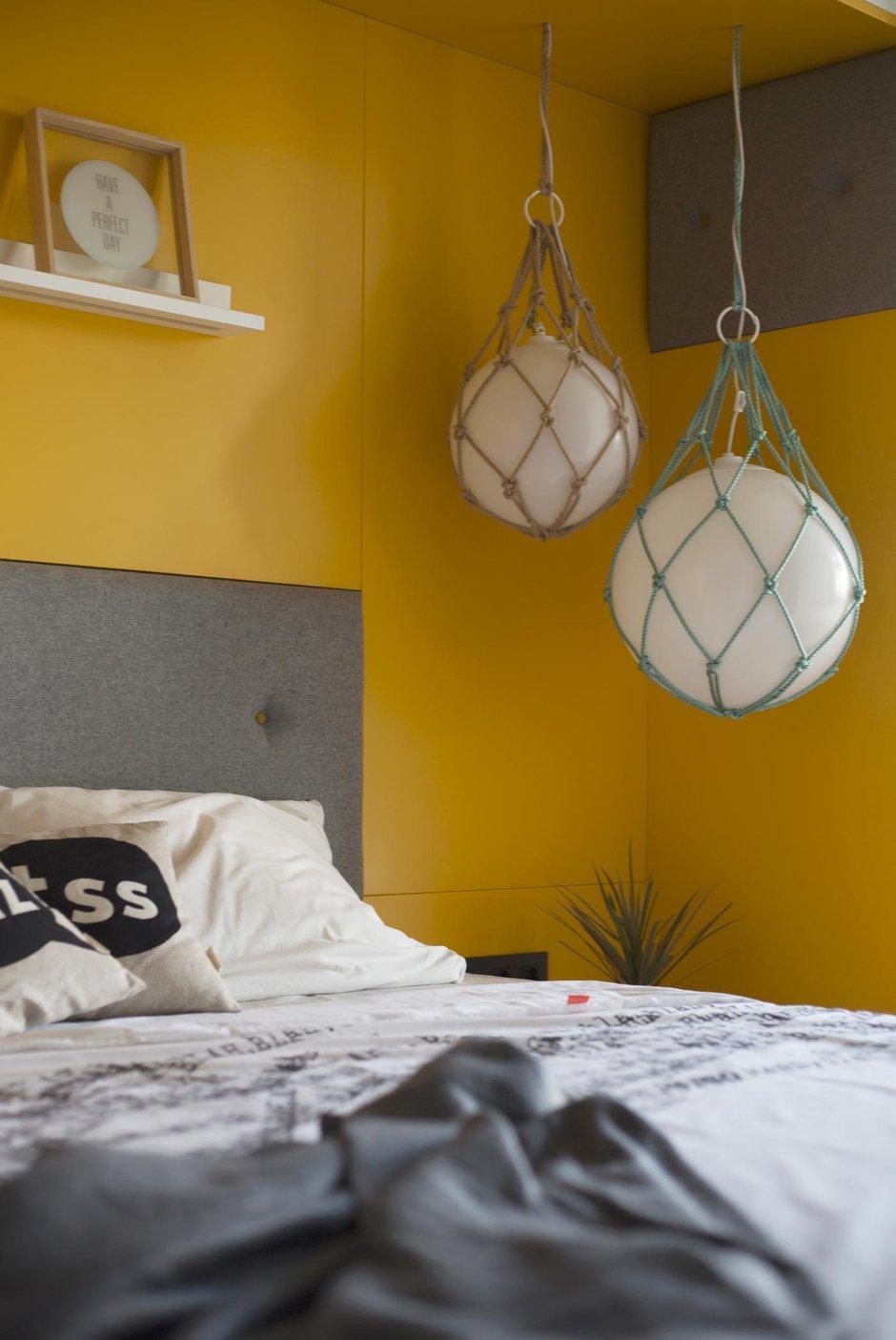 Фотография: Спальня в стиле Минимализм, Современный, Квартира, Проект недели, Москва, Монолитный дом, 3 комнаты, 60-90 метров, Zeworkroomstudio – фото на INMYROOM