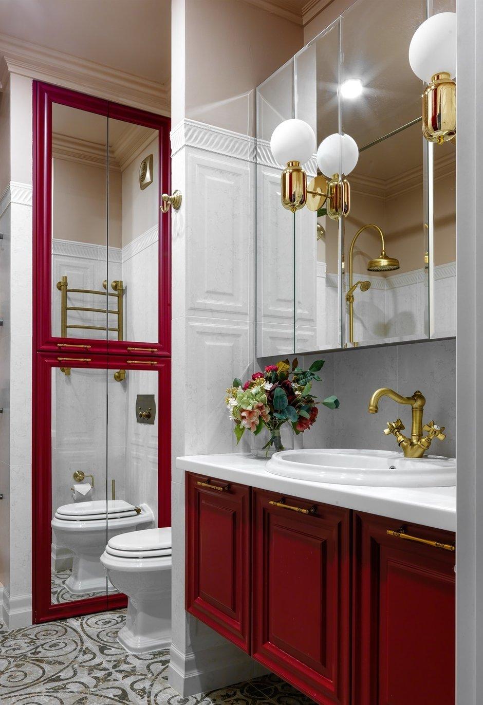 Фотография: Ванная в стиле Современный, Квартира, Проект недели, Москва, Монолитный дом, 1 комната, 40-60 метров, Серж Махов – фото на INMYROOM
