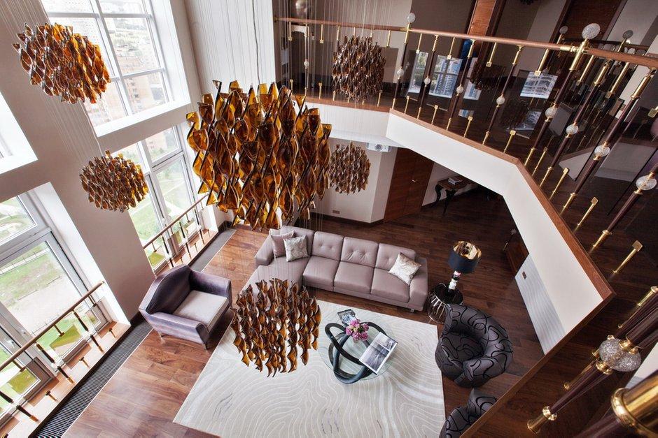 Фотография: Мебель и свет в стиле , Квартира, Италия, Дома и квартиры, Пентхаус, Люстра, Ар-деко – фото на INMYROOM
