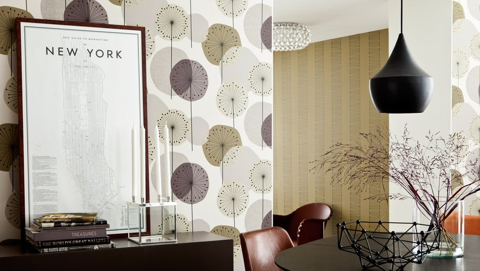 Фотография: Прочее в стиле , Декор интерьера, Дизайн интерьера, Цвет в интерьере, Обои, Стены, Эко – фото на InMyRoom.ru