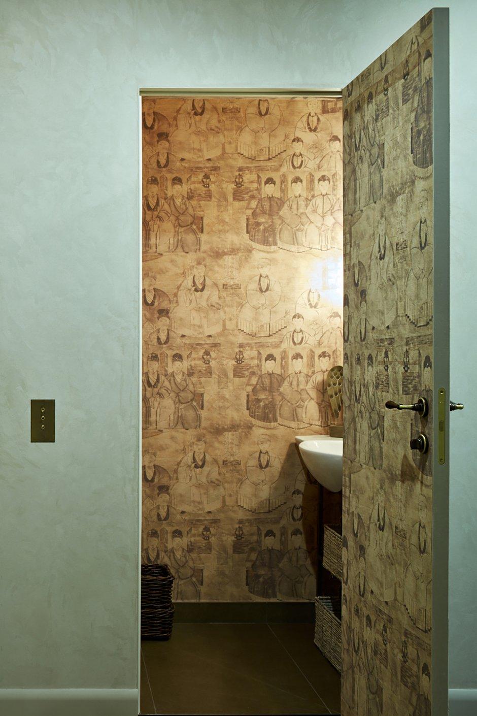 Фотография: Ванная в стиле Восточный, Квартира, Проект недели, Москва, Сталинка, Кирпичный дом, 3 комнаты, Более 90 метров, Валерия Белоусова – фото на INMYROOM