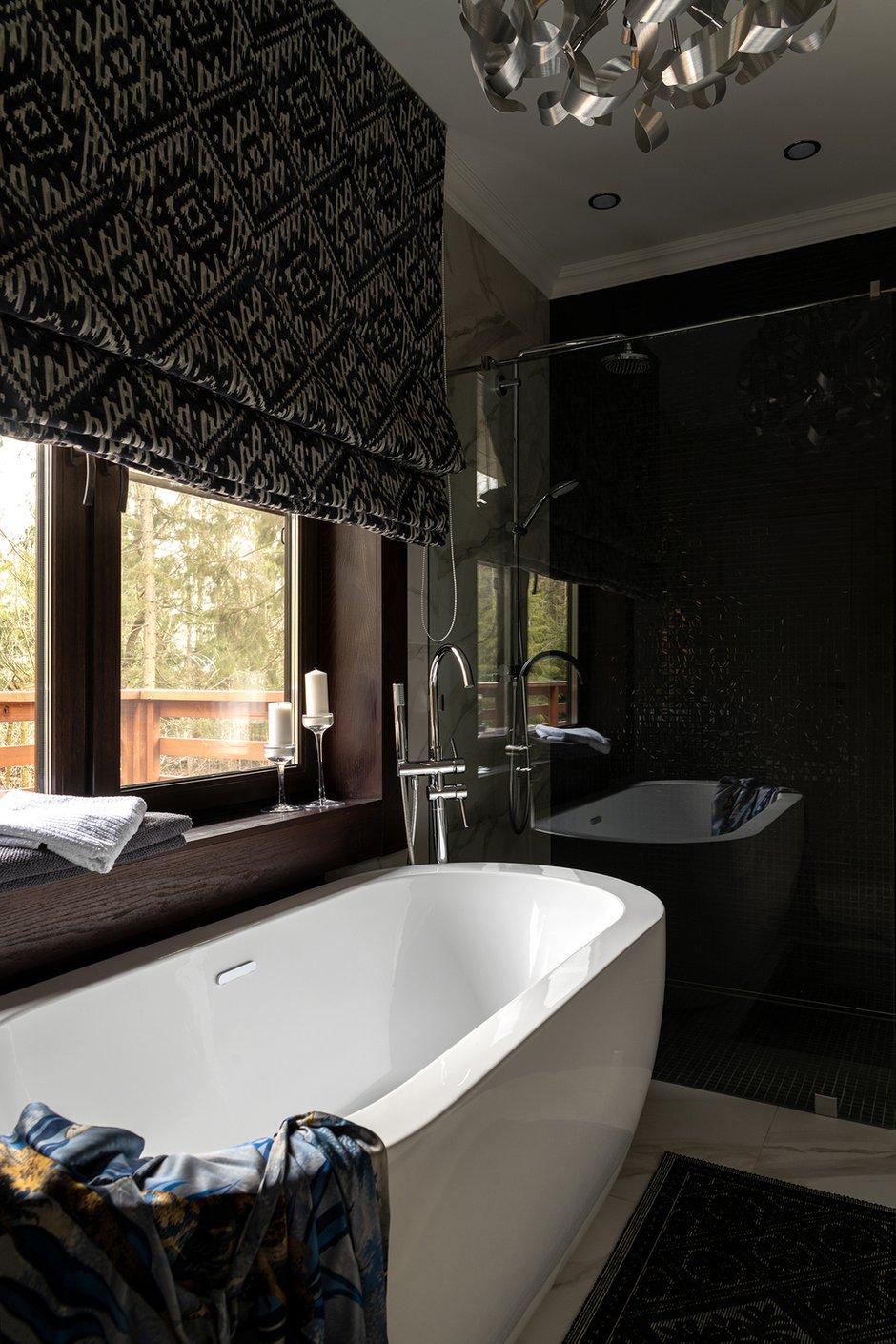 Фотография: Ванная в стиле Современный, Эклектика, Дом, Проект недели, Более 90 метров, Дарья Сиротина, Roomer – фото на INMYROOM