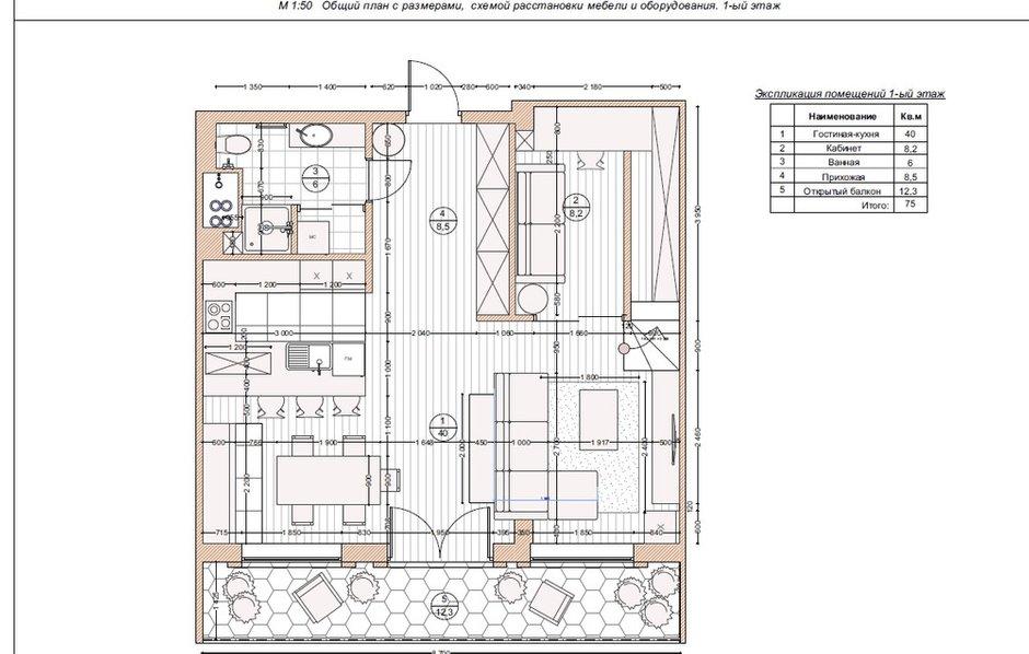 Фотография: Планировки в стиле , Лофт, Проект недели, Москва, Мария Рублева, Кирпичный дом, 4 и больше, Более 90 метров, #эксклюзивныепроекты – фото на INMYROOM