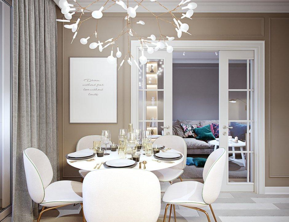 Фотография: Кухня и столовая в стиле Современный, Квартира, Проект недели, Москва, 4 и больше, Более 90 метров, Little Space – фото на INMYROOM