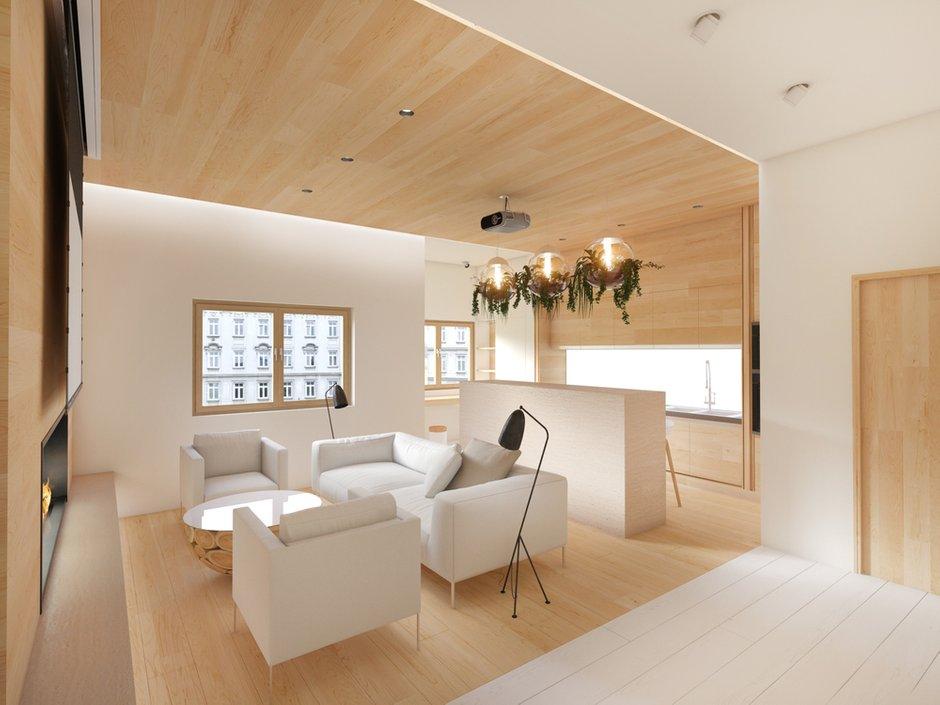 Фотография: Гостиная в стиле Современный, Квартира, Дома и квартиры, Минимализм, Проект недели – фото на INMYROOM
