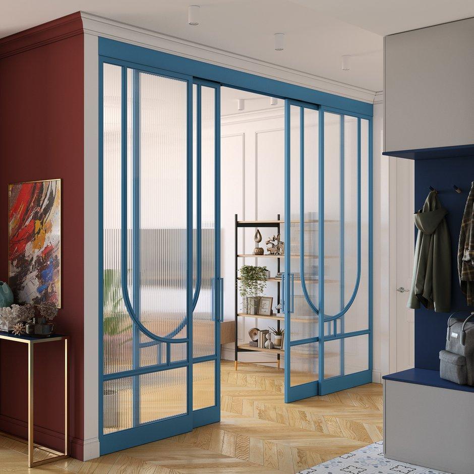 Фотография: Прихожая в стиле Современный, Квартира, Проект недели, Москва, OM Design, 2 комнаты, 40-60 метров – фото на INMYROOM