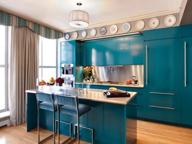 Фотография: Кухня и столовая в стиле Прованс и Кантри, Современный, Декор интерьера, Дизайн интерьера, Цвет в интерьере, Dulux, Akzonobel – фото на INMYROOM