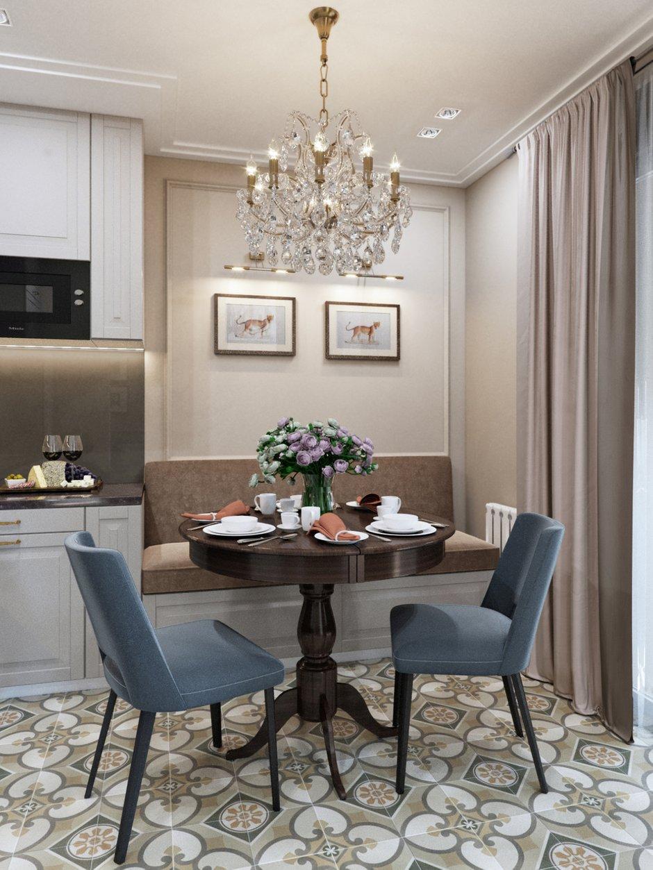 Фотография: Кухня и столовая в стиле Современный, Классический, Проект недели, 1 комната, 40-60 метров – фото на INMYROOM