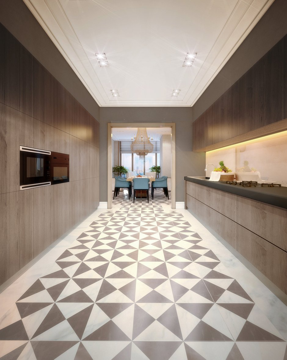 Фотография: Кухня и столовая в стиле , Эклектика, Квартира, Дома и квартиры, Проект недели – фото на INMYROOM