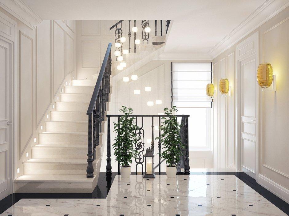 Фотография:  в стиле Современный, Декор интерьера, Дом, Artemide, Vistosi, Дома и квартиры, Проект недели, Ideal Lux, Таунхаус – фото на INMYROOM
