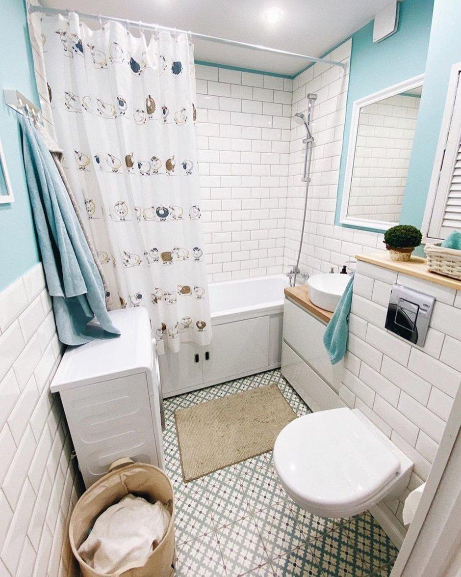 Фотография: Ванная в стиле Скандинавский, Квартира, Проект недели, Сбербанк, домклик, Сбер, СберСтрахование – фото на INMYROOM