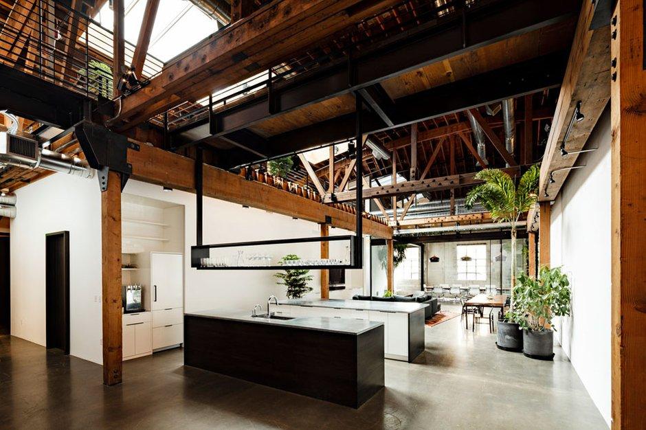 Фотография: Офис в стиле Прованс и Кантри, Лофт, Современный, Офисное пространство, Дома и квартиры, Проект недели – фото на INMYROOM