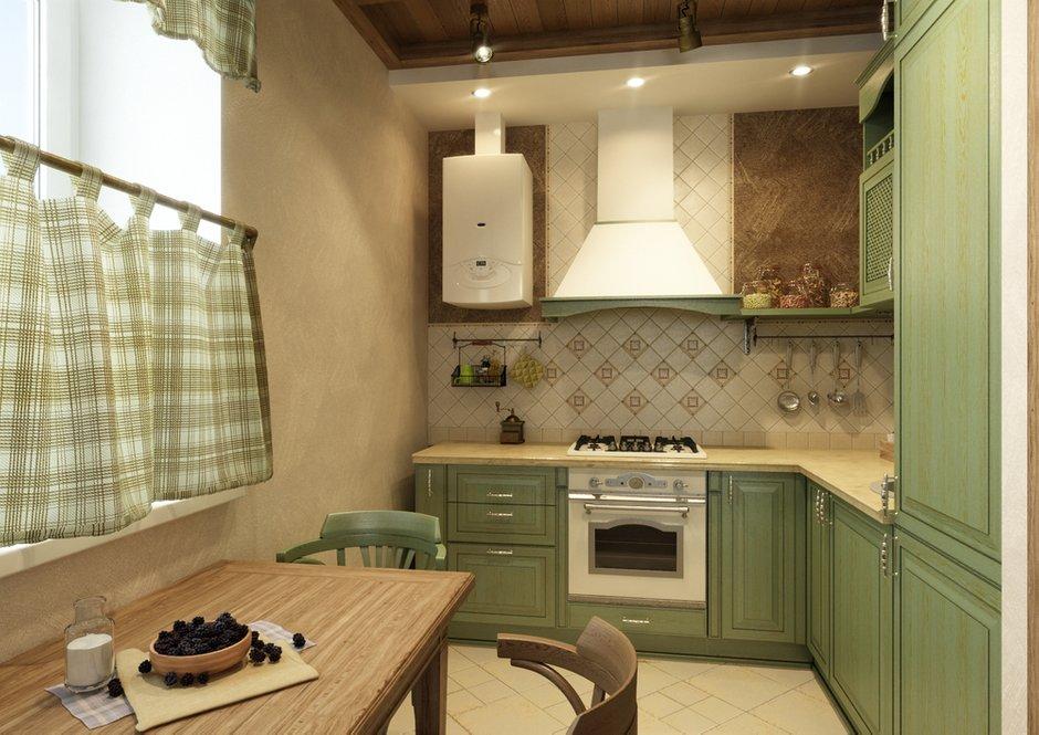 Фотография: Кухня и столовая в стиле Прованс и Кантри, Квартира, Дома и квартиры, IKEA, Проект недели, Деревенский – фото на INMYROOM
