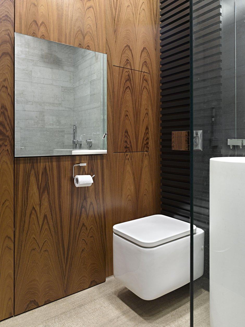 Фотография: Ванная в стиле Современный, Малогабаритная квартира, Квартира – фото на INMYROOM