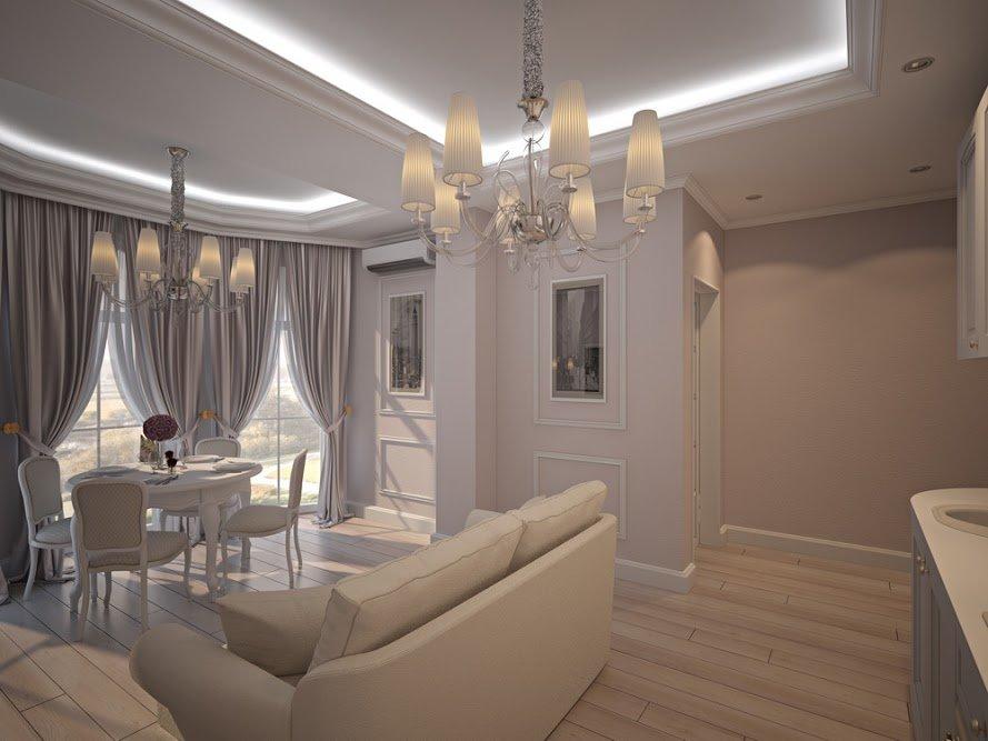 Фотография: Гостиная в стиле Классический, Малогабаритная квартира, Дом, Дома и квартиры – фото на INMYROOM