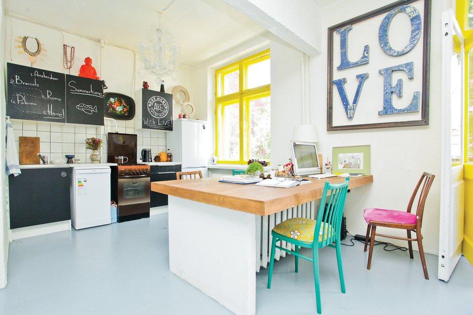 Фотография: Кухня и столовая в стиле Лофт, Квартира, Дома и квартиры, IKEA – фото на INMYROOM