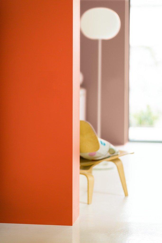 Фотография:  в стиле Современный, Декор интерьера, Дизайн интерьера, Цвет в интерьере, Dulux, Оранжевый, ColourFutures – фото на InMyRoom.ru