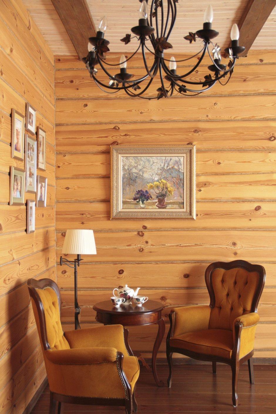 Фотография: Мебель и свет в стиле Эклектика, Дом, Дома и квартиры, Дача – фото на INMYROOM